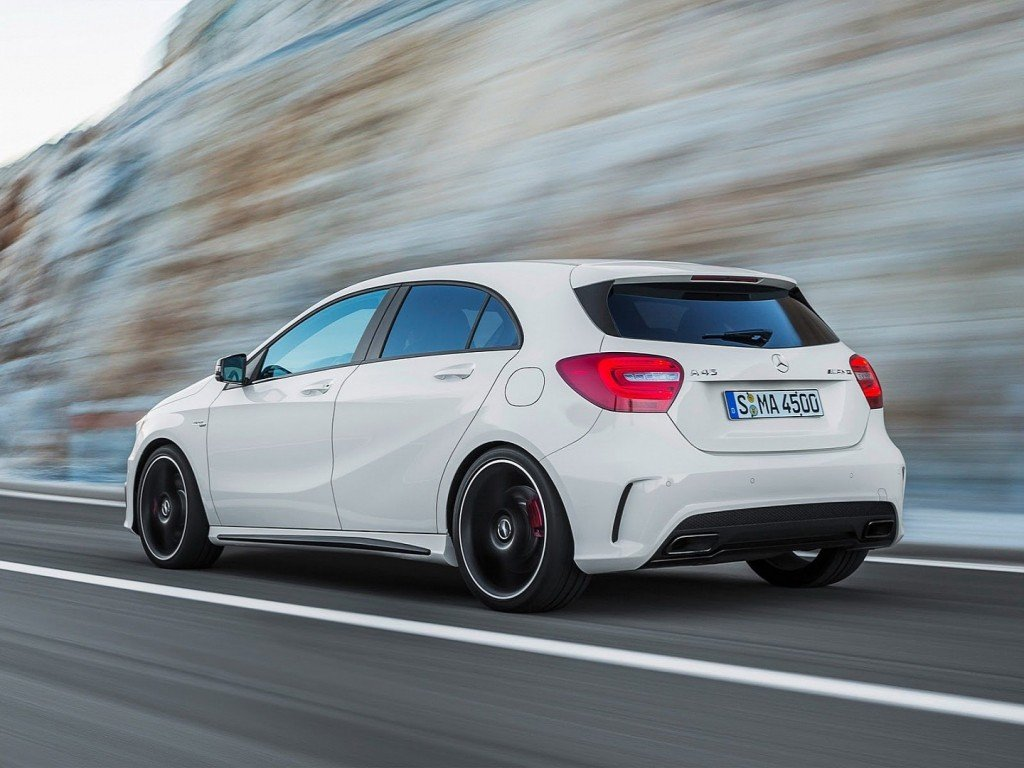 Mercedes Benz A45 AMG back