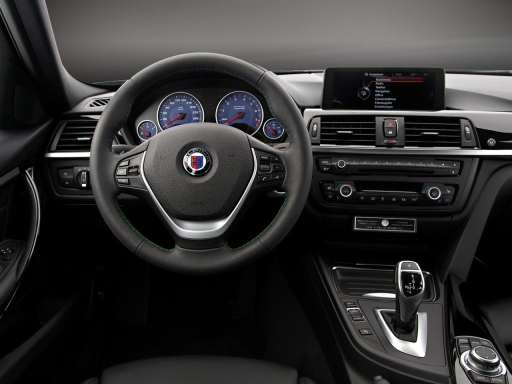 ALPINA B3 Bi-Turbo Interior