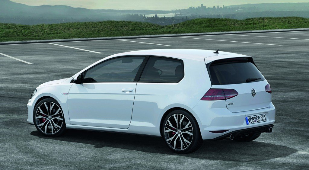 VW Golf GTI 2013 back