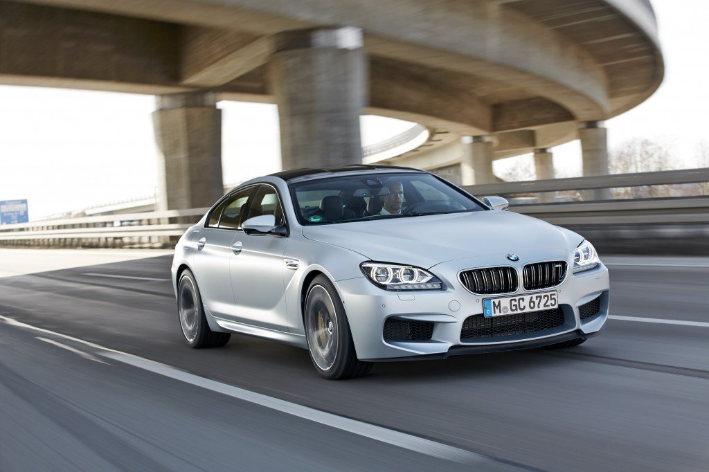 BMW M6 Gran Coupe road