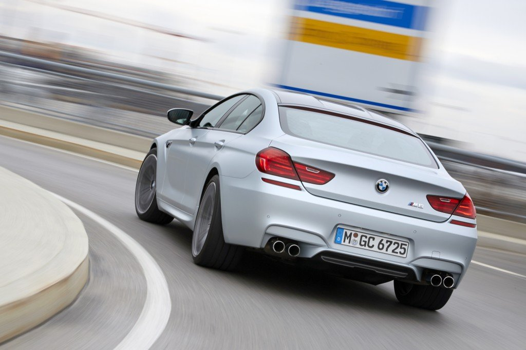 BMW M6 Gran Coupe back