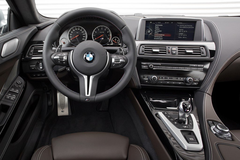 BMW M6 Gran Coupe interior