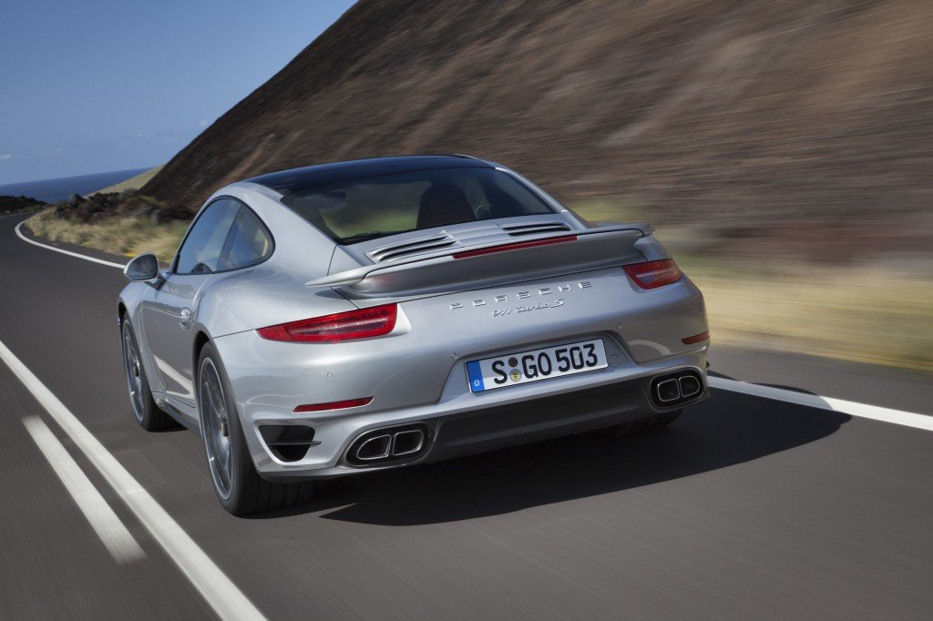 Porsche 911 Turbo S back