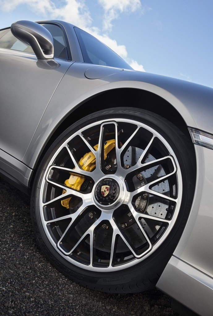Porsche 911 Turbo S rims
