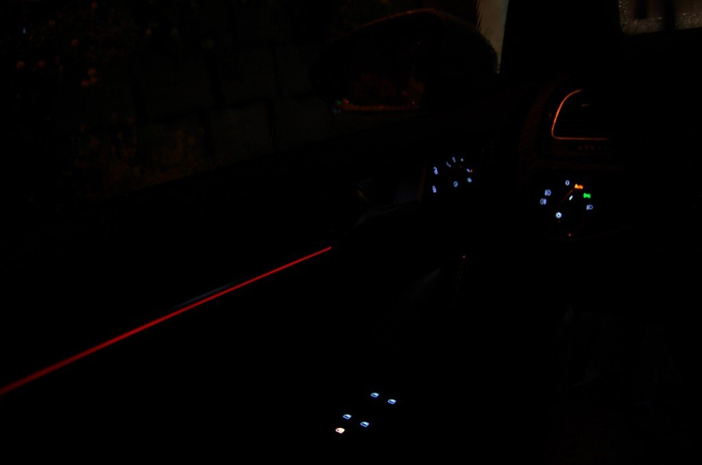 VW Golf 7 GTI Performance Interior Night