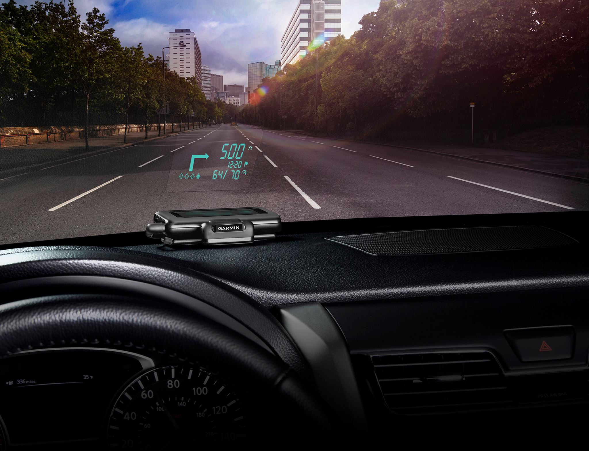 Garmin Head-Up-Display
