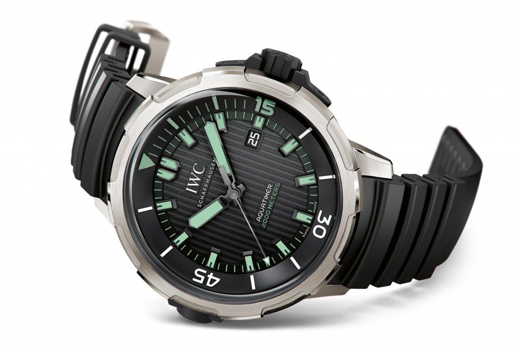 IWC Aquatimer Automatic 2000 - Road Trip Must-Haves