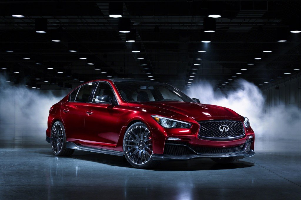 Infiniti Q50 Eau Rouge - Goodwood