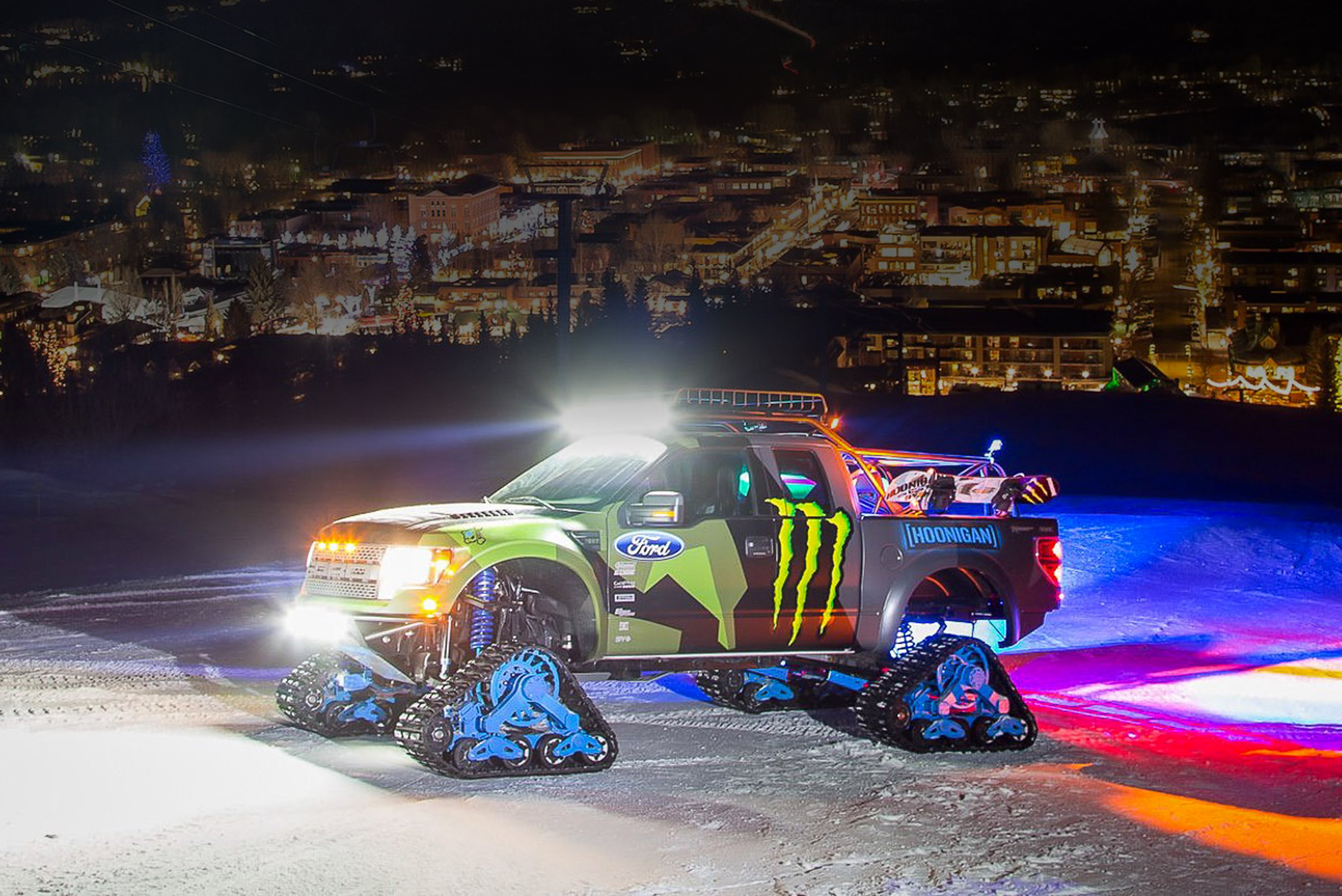 Ken Block And His Raptortrax Moto Networks