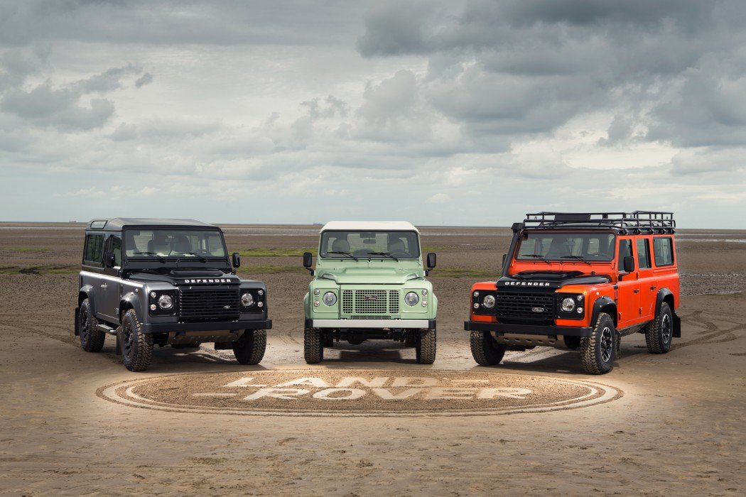 Die Land Rover Special Editions: Autobiography Edition, Heritage Edition und die Adventure Edition.