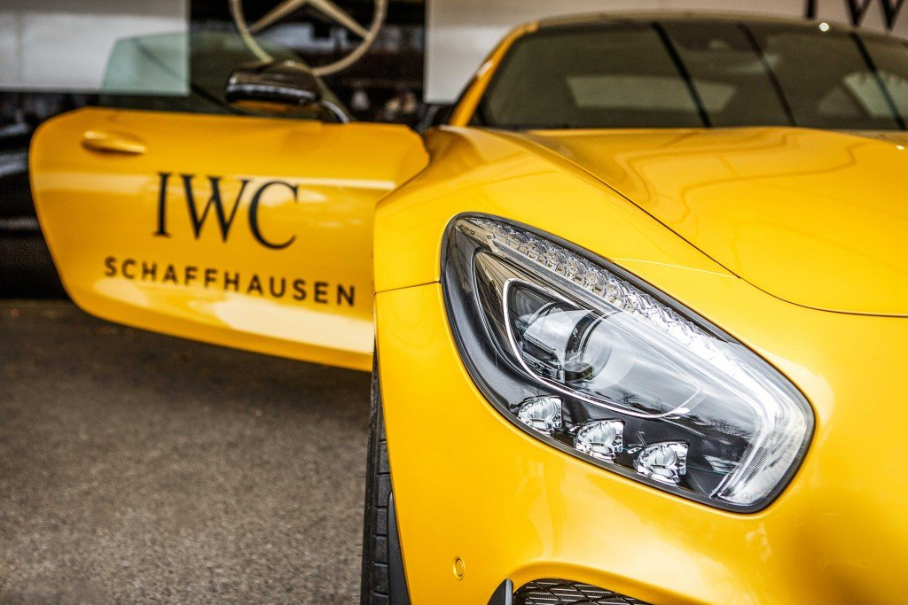 Mercedes AMG GT in Solarbeam