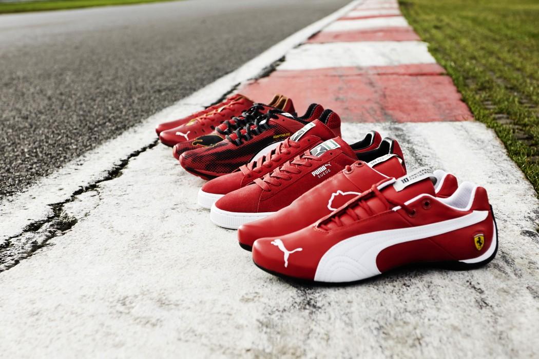Puma bringt die Ferrari Icon Collection