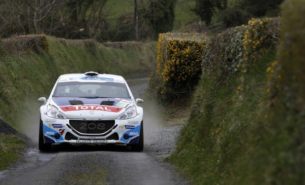 Peugeot 208 T16 mit Craig Breen gewinnt Circuit of Ireland Rally