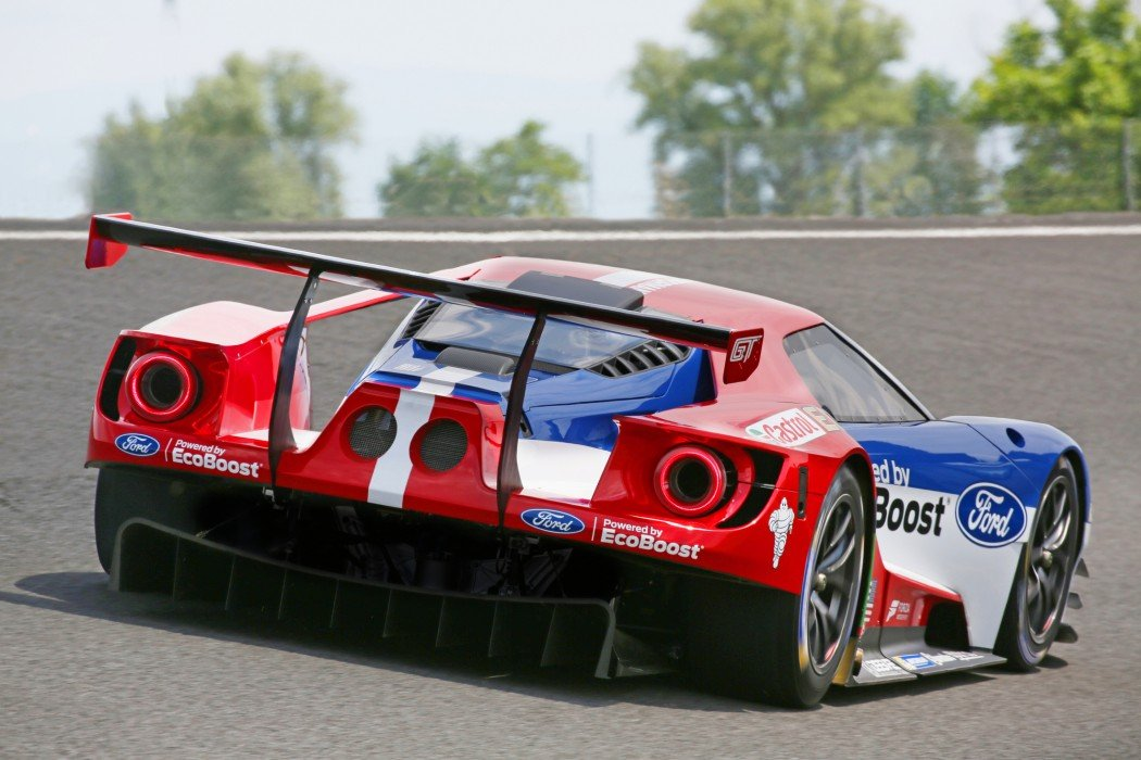 Ford GT bei Le Mans 2015