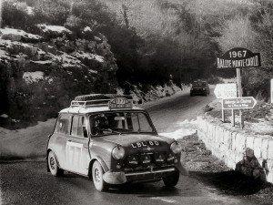 Rauno Aaltonen Rallye Automobile de Monte-Carlo 1967