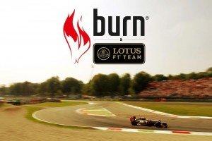 Burn Coca-Cola Lotus-F1
