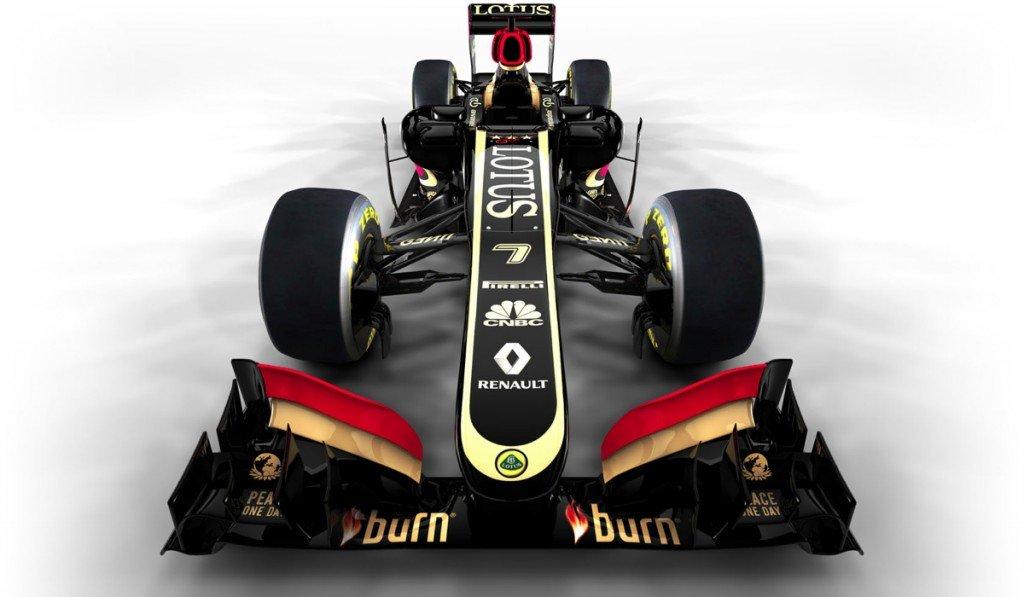 Lotus E21 F1 Front