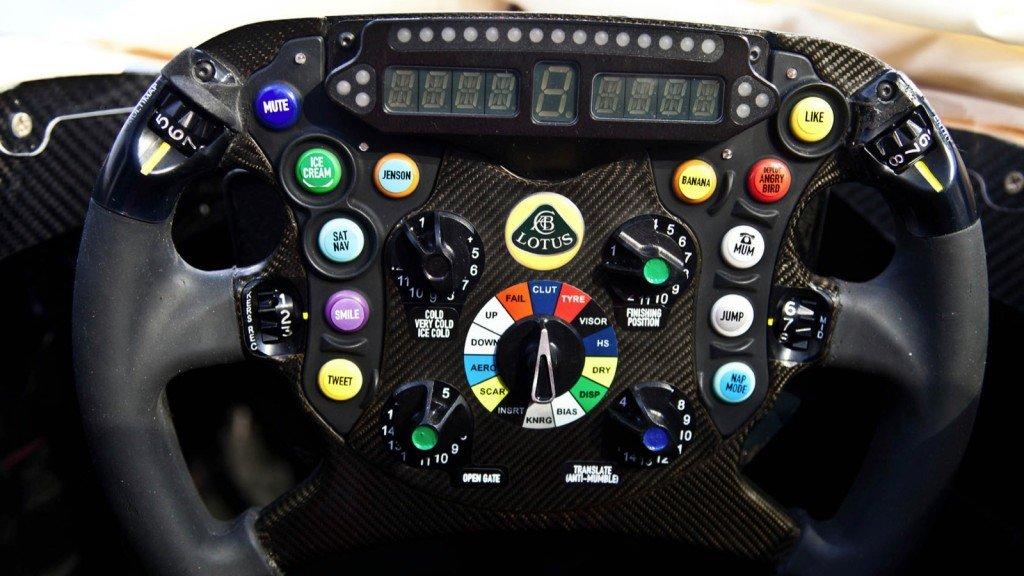 Lotus E21 F1 Steering Wheel