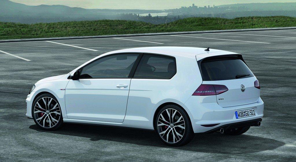 VW Golf GTI 2013 back