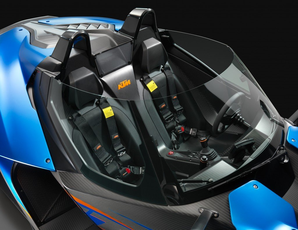 KTM X-BOW GT Windscreen