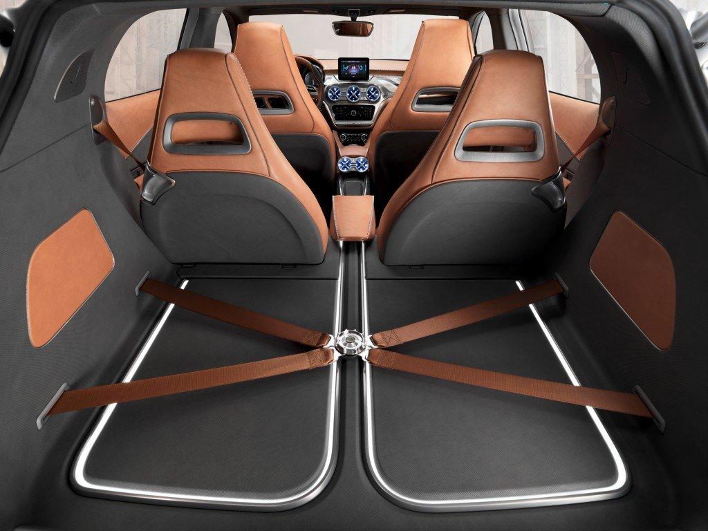 Mercedes-Benz Concept GLA, Interieur