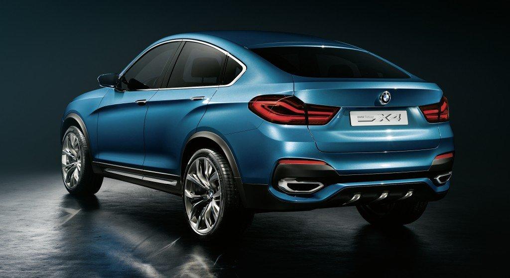 BMW X4 Concept back