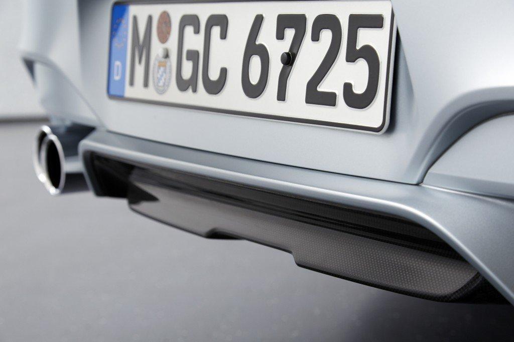 BMW M6 Gran Coupe carbon diffusor
