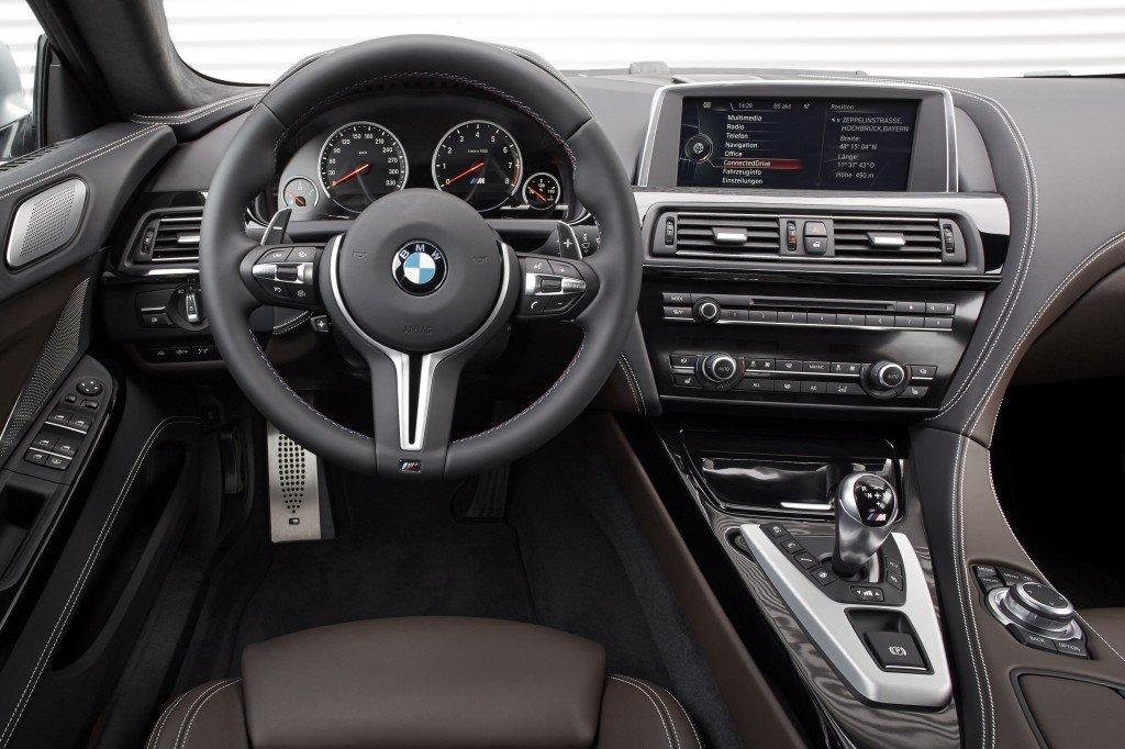 BMW M6 Gran Coupe interior