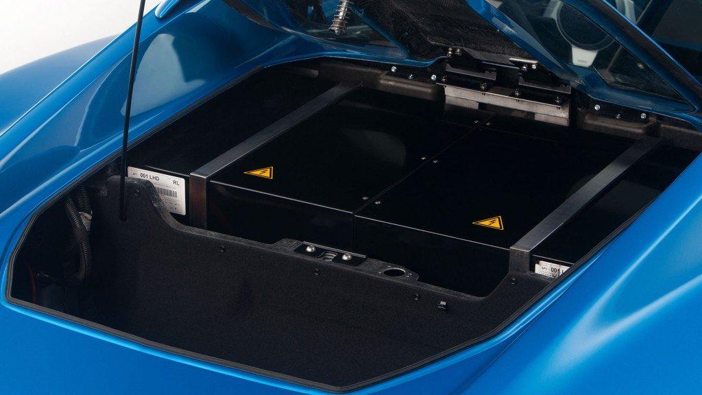 Detroit Electric SP:01 battery