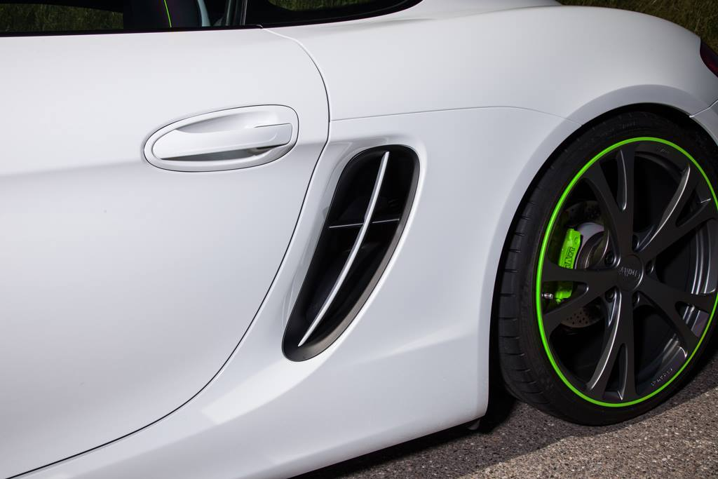 TECHART Porsche Cayman rims