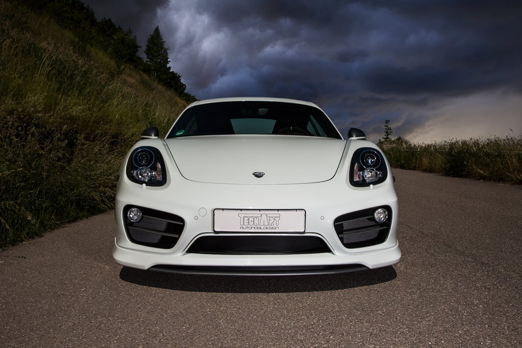 TECHART Porsche Cayman front
