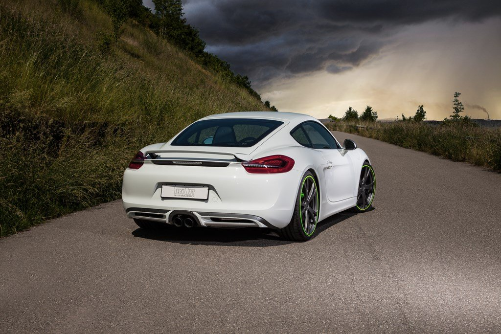 TECHART Porsche Cayman back