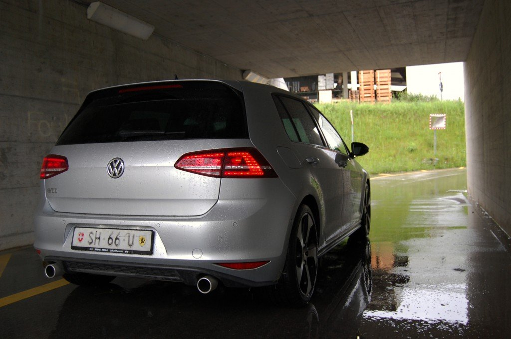 VW Golf 7 GTI Performance Back
