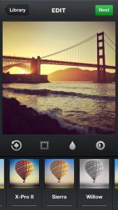 Instagram 3.5 - Camera