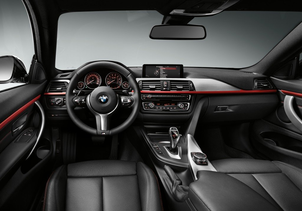 BMW 4er Coupé interior