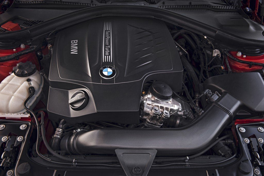 BMW 4er Coupé engine