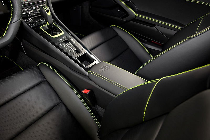 TECHART Porsche Cayman Interior