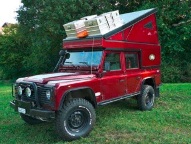 Expeditionsfahrzeug: Land Rover Defender 110 TD5