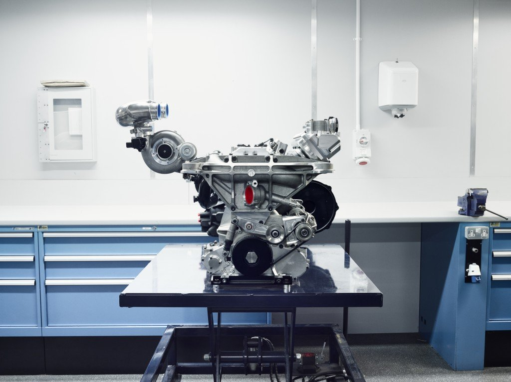 Jaguar C-X75 Engine