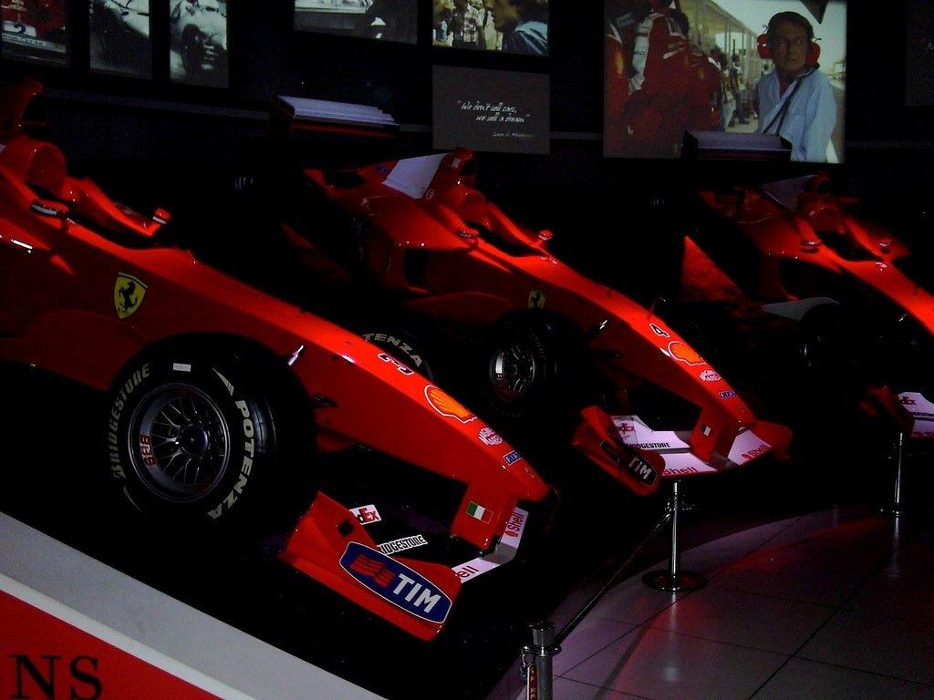 Besuch im Ferrari Museum