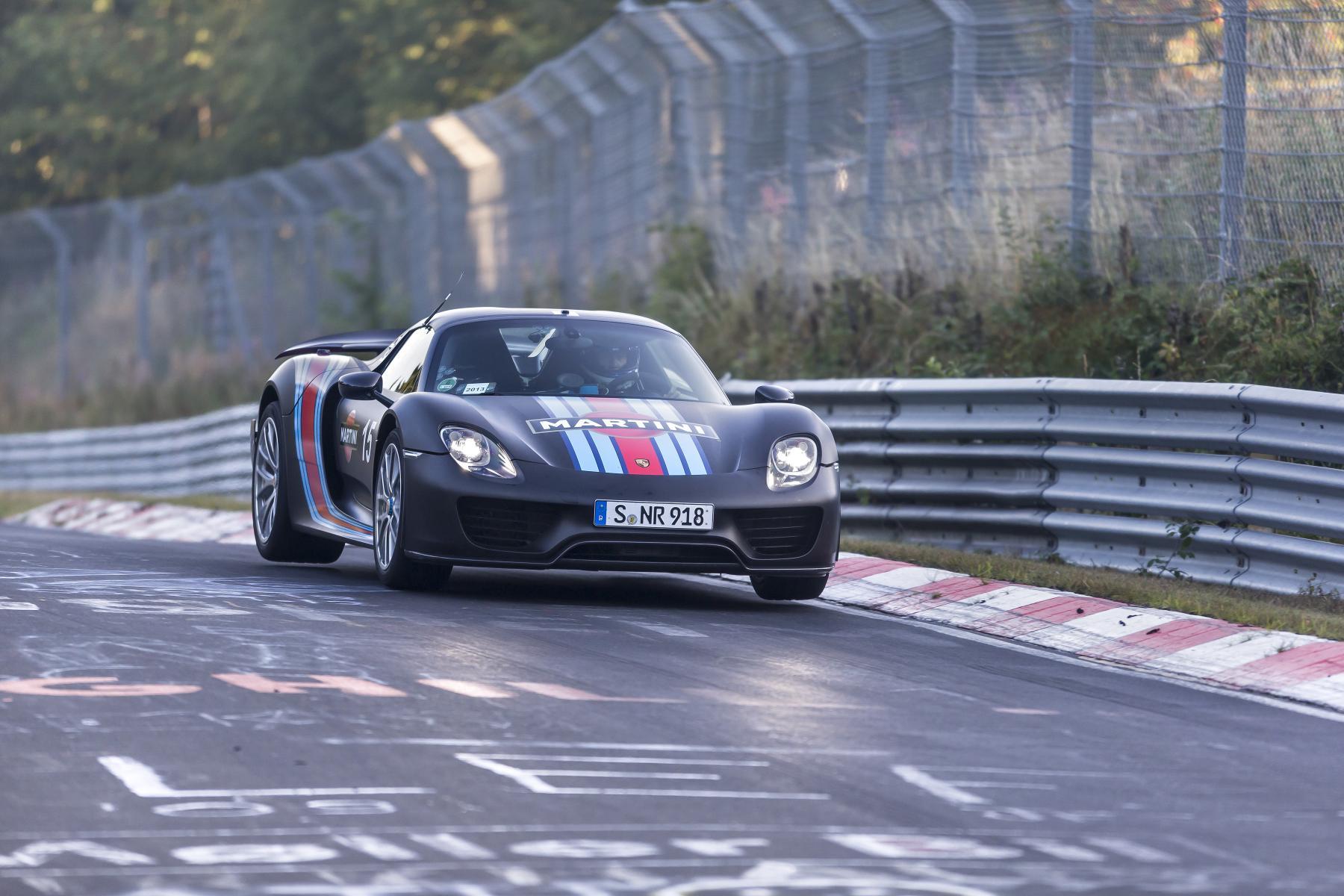 Porsche 918 Spyder mit Nürburgring-Rundenrekord
