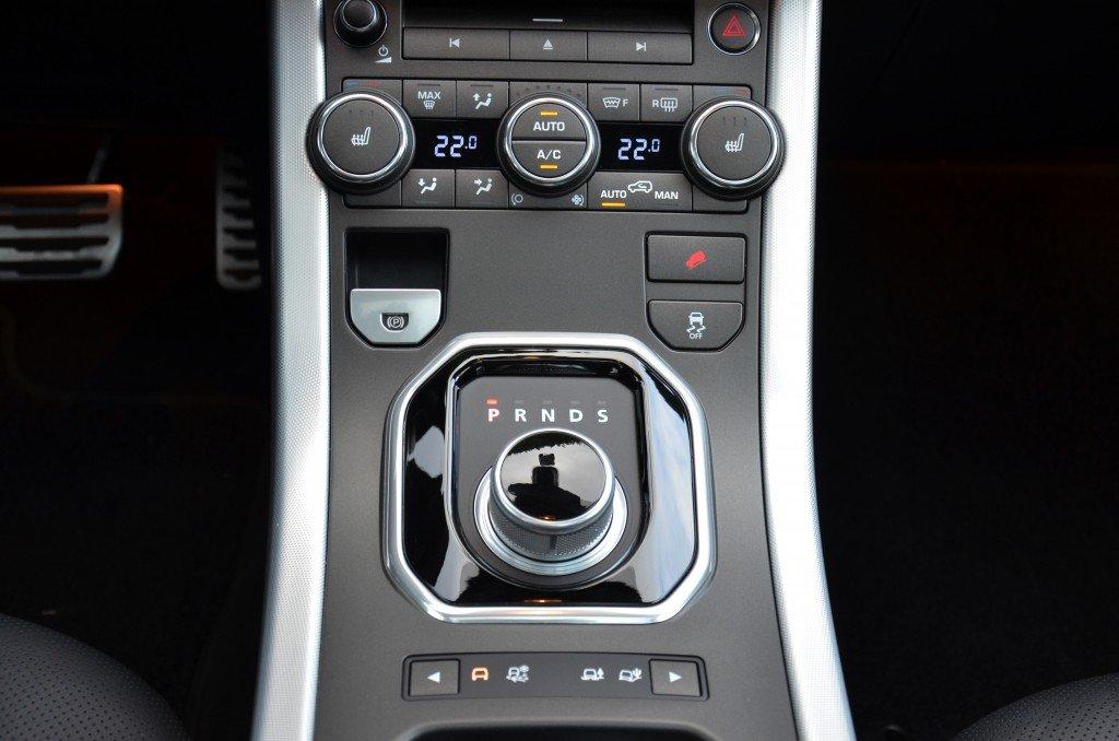 Range Rover Evoque Terrain Response System