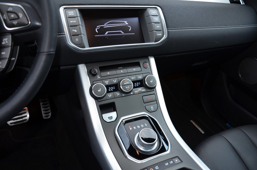 Range Rover Evoque Navigation