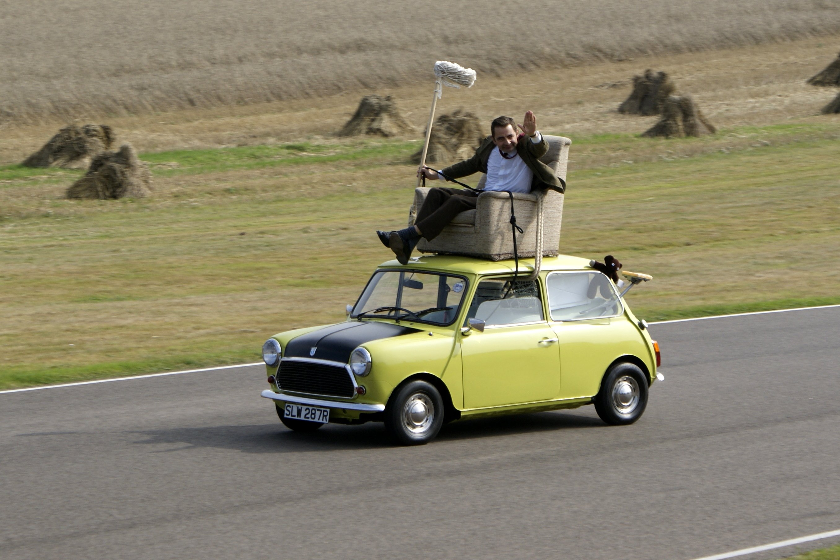 Mr. Bean's Mini Cooper