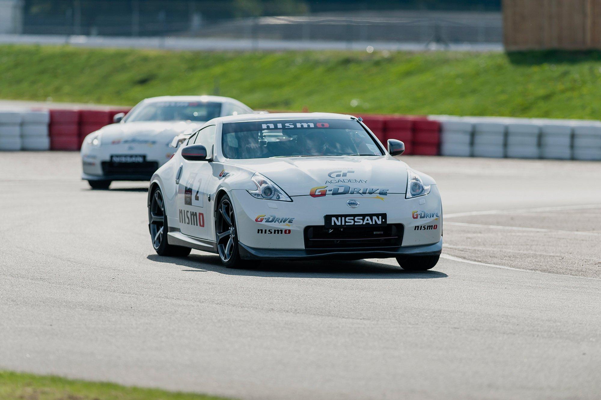 Zu Besuch bei der Nissan GT Academy in Silverstone