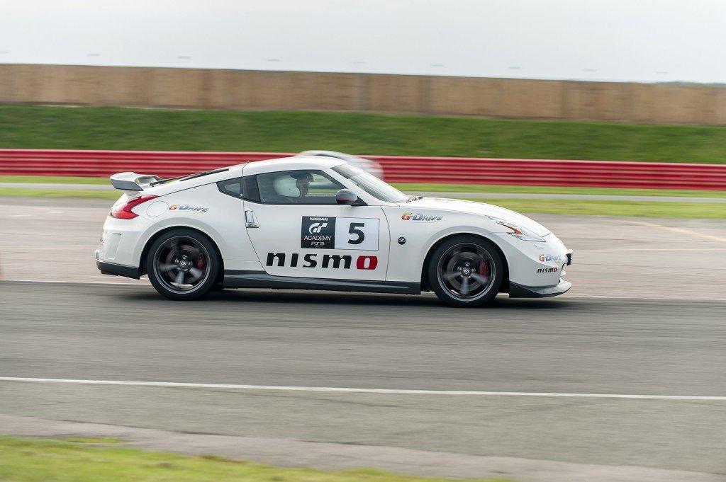 Nissan GT Academy in Silverstone