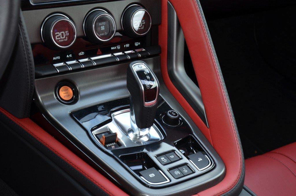 Jaguar F-Type V6 S Gearbox