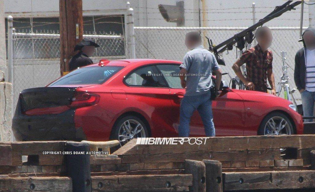 BMW M235i 2014 back