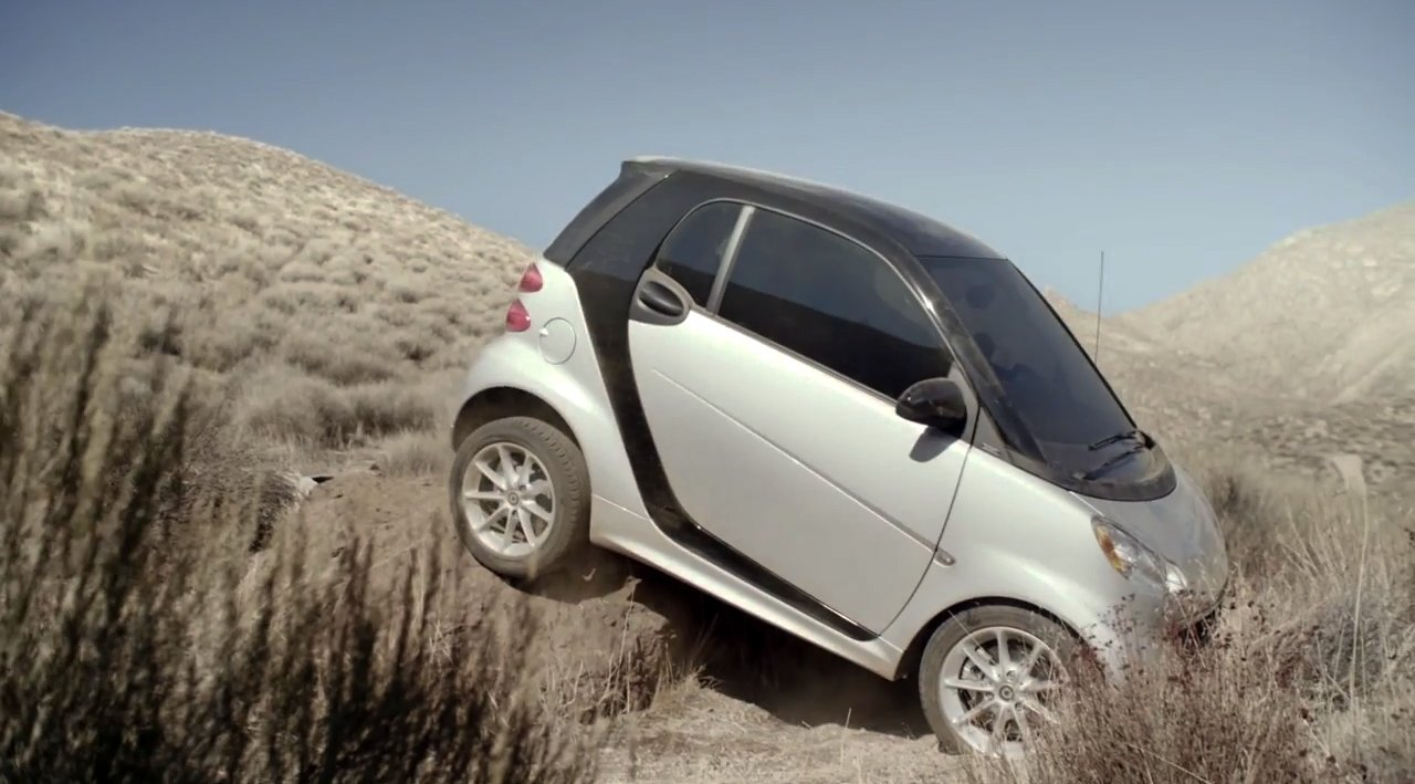 Smart ForTwo Offroad Werbung