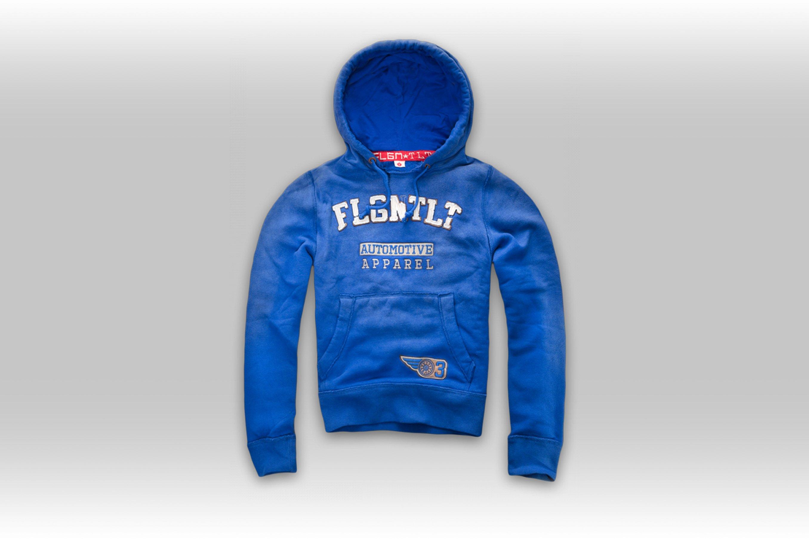 FLGNTLT Blue Dirt Hoodie